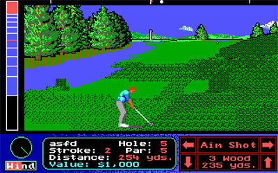 Jack Nicklaus' Greatest 18 Holes of Major Championship Golf - Screenshot - Gameplay