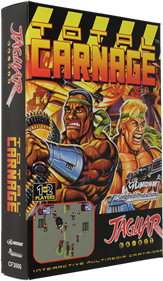 Total Carnage - Box - 3D