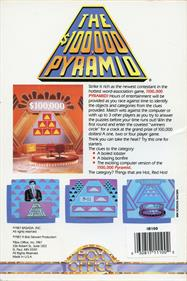 The $100,000 Pyramid - Box - Back
