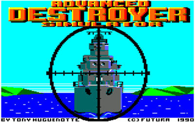 ADS: Advanced Destroyer Simulator - Screenshot - Game Title