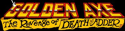 Golden Axe: The Revenge of Death Adder - Clear Logo