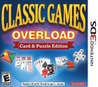 Classic Games Overload: Card & Puzzle Edition - Box - Front