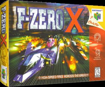 F-Zero X - Box - 3D