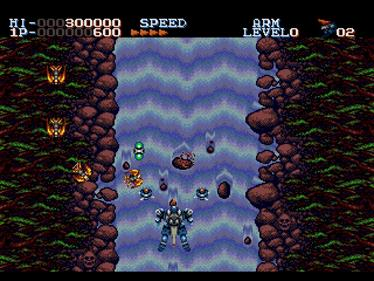 Robo Aleste - Screenshot - Gameplay