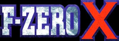 F-Zero X - Clear Logo