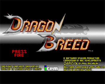 Dragon Breed - Screenshot - Game Title