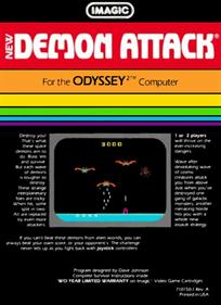 Demon Attack - Box - Back