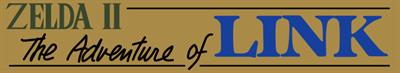 Zelda II: The Adventure of Link - Banner