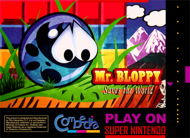 Mr. Bloopy: Saves the World
