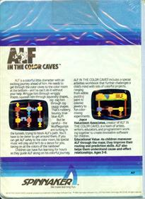 Alf in the Color Caves - Box - Back