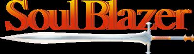Soul Blazer - Clear Logo