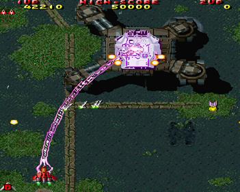 The Raiden Project - Screenshot - Gameplay
