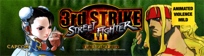 Street Fighter III: 3rd Strike: Fight for the Future - Arcade - Marquee