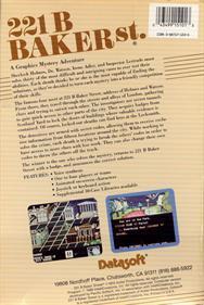221 B Baker St. - Box - Back