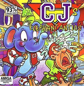 CJ's Elephant Antics