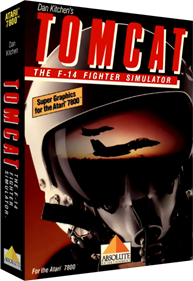 Tomcat: The F-14 Fighter Simulator - Box - 3D