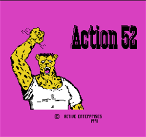 Action 52 - Screenshot - Game Title