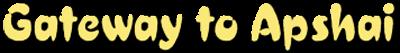 Gateway to Apshai - Clear Logo