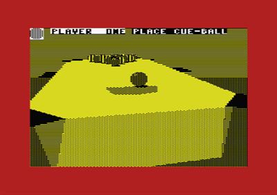 3D Pool - Screenshot - Gameplay