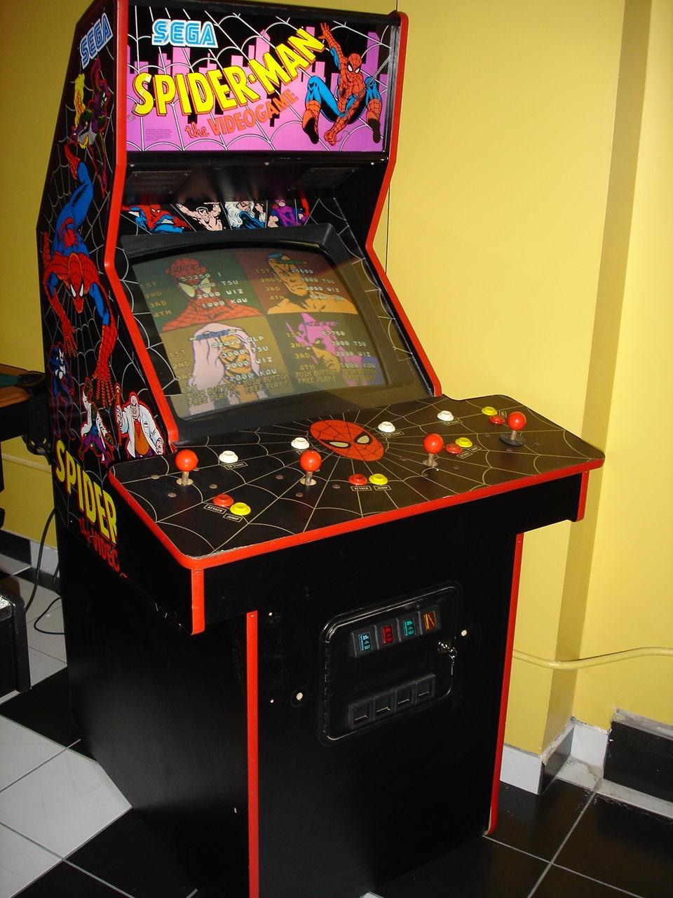 ... Spider Man: The Video Game   Arcade   Cabinet ...