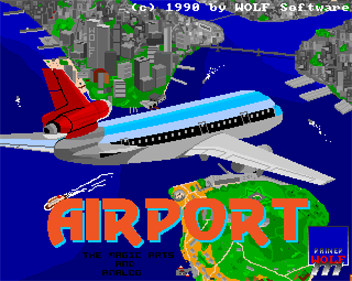 Airport - Screenshot - Game Title