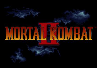 Mortal Kombat II - Screenshot - Game Title