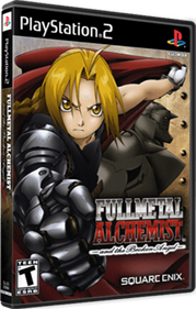 Fullmetal Alchemist and the Broken Angel - Box - 3D