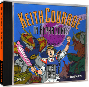 Keith Courage in Alpha Zones - Box - 3D