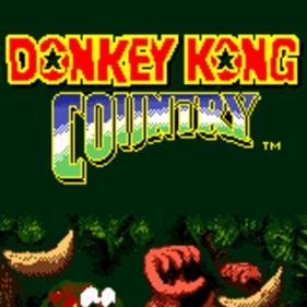 Donkey Kong Country - Screenshot - Game Title