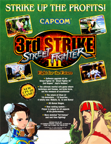 Street Fighter III: 3rd Strike: Fight for the Future - Advertisement Flyer - Front