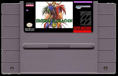 Emerald Dragon - Fanart - Cart - Front