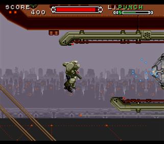 Cybernator - Screenshot - Gameplay