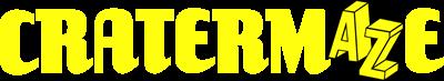 Cratermaze - Clear Logo