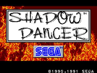 Shadow Dancer: The Secret of Shinobi - Screenshot - Game Title