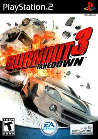 Burnout 3: Takedown - Fanart - Box - Front