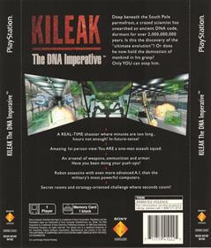 Kileak: The DNA Imperative - Box - Back