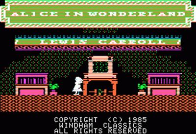 Alice in Wonderland - Screenshot - Game Title