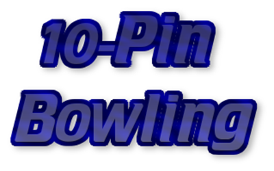 10-Pin Bowling - Clear Logo