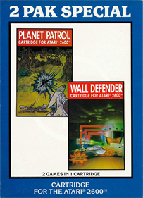 2 Pak Special: Planet Patrol / Wall Defender