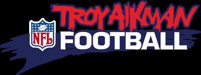 Troy Aikman NFL Football - Clear Logo