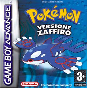 Pokémon Sapphire Version - Box - Front