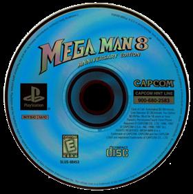 Mega Man 8 - Disc