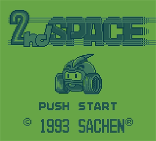 2nd Space - Screenshot - Game Title