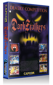 Darkstalkers: The Night Warriors - Box - 3D