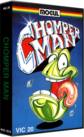Chomper Man - Box - 3D