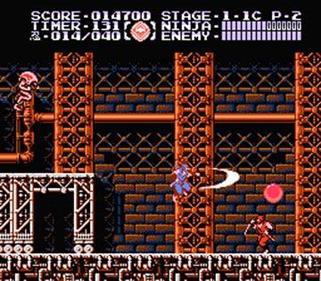 Ninja Gaiden III: The Ancient Ship of Doom - Screenshot - Gameplay