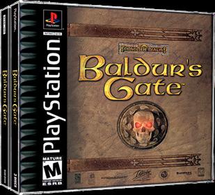 Baldur's Gate - Box - 3D