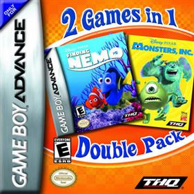 2 Games in 1: Finding Nemo + Monsters Inc.