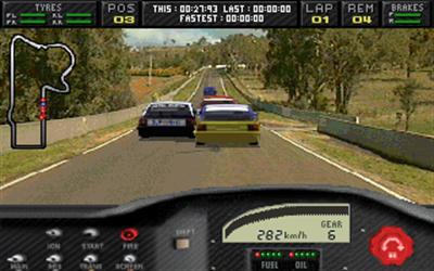 Touring Car Champions - Screenshot - Gameplay