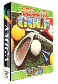 Greg Norman's Shark Attack!: The Ultimate Golf Simulator - Box - 3D